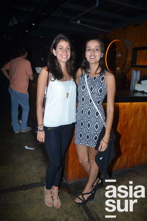 Maria Jose Malca y Jacinta Ruiloba.