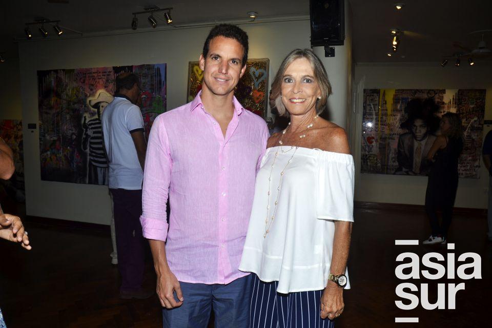 Mario Schwartzmann y Monica Fisher.