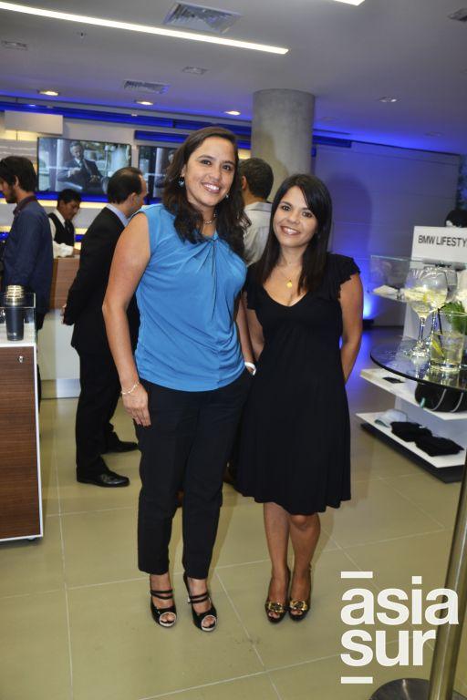 Marjorie Paz y Jessica Sarmiento.