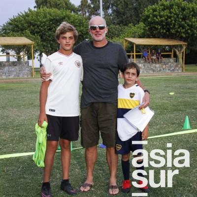 Mateo, Alfonso(padre) y Alfonso Dasso (hijo).