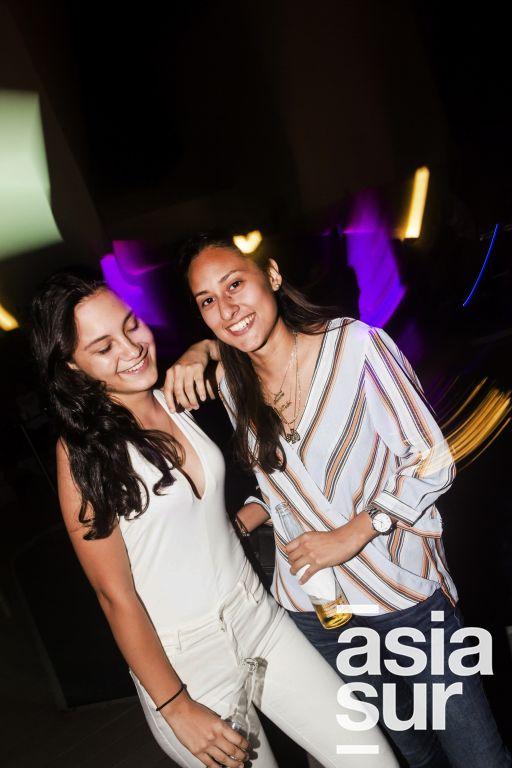 Nicole Muller y Maria Fernanda Samamé en el After Office de la marca Keralia y Kiya en el Sonesta.