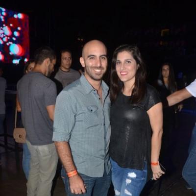 Raul Soriano y Monica Santa Maria.