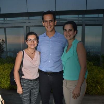 Rose Marie Principe, Guillermo Zubiate y Aizel Osterling.