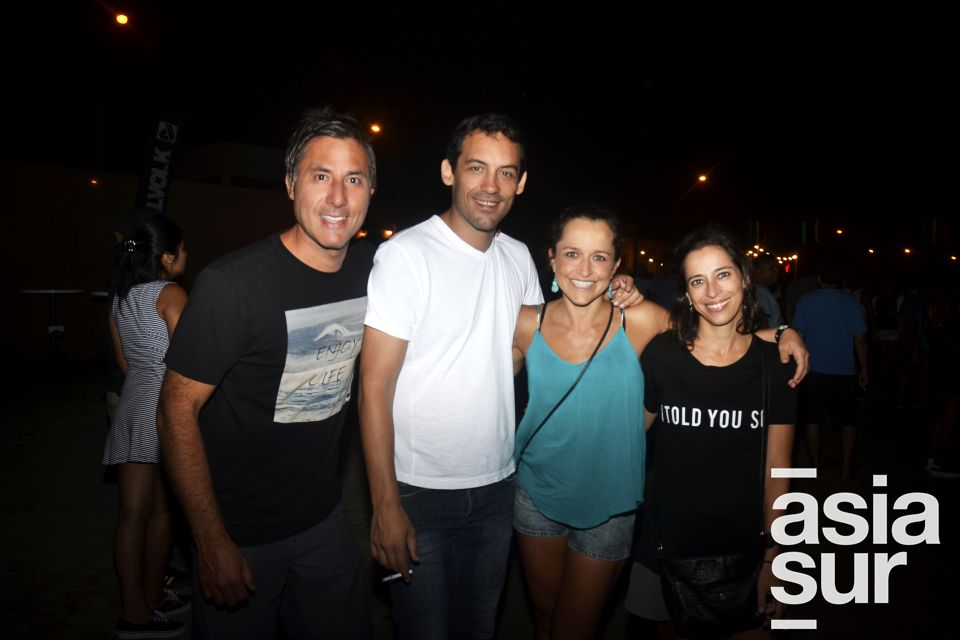 Samuel Izquierdo, John Pany, Carola Vega y Rosemarie Lerner.