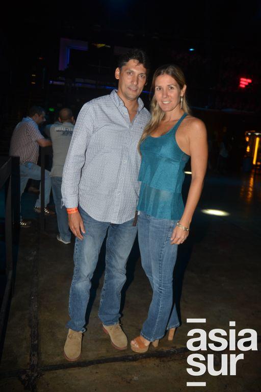 Stevan Toranzo y Monica Narvarte.