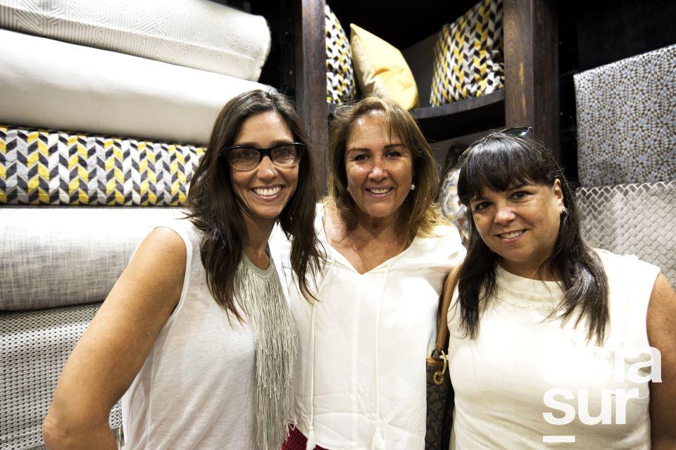Vivian Nathan, Maria Luisa Dupont y Verónica Pereyra.