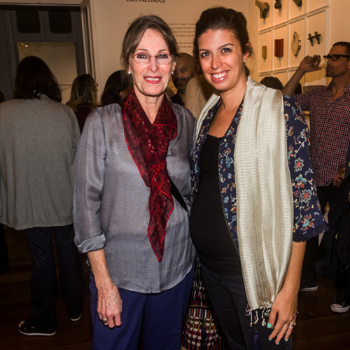 Alice Reich y Maria Paz Llosa