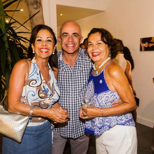 Rossana Alvarado Braschi, Alberto del Barco y Rosi del Cuadro