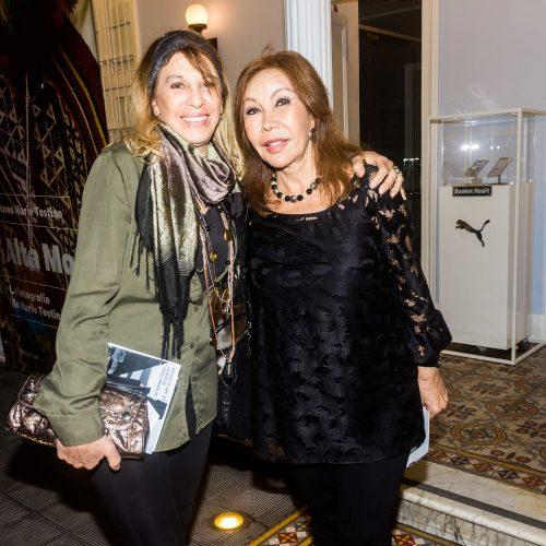 Chichi Peschiera y Carmen Postoreli