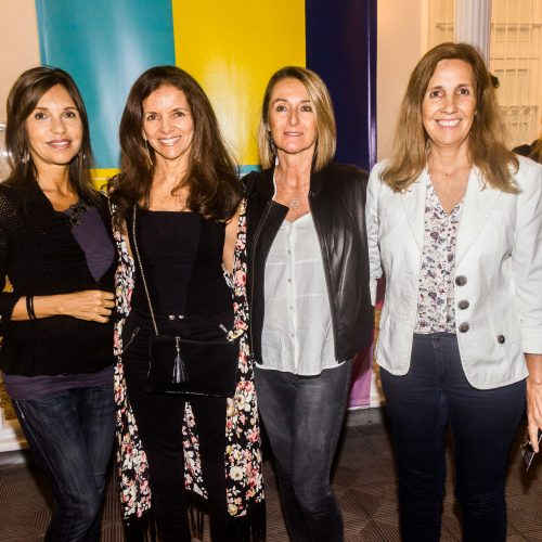 Cristina Villavicencio, Marita Parodi, Maysa Melgar y Patricia Barreda