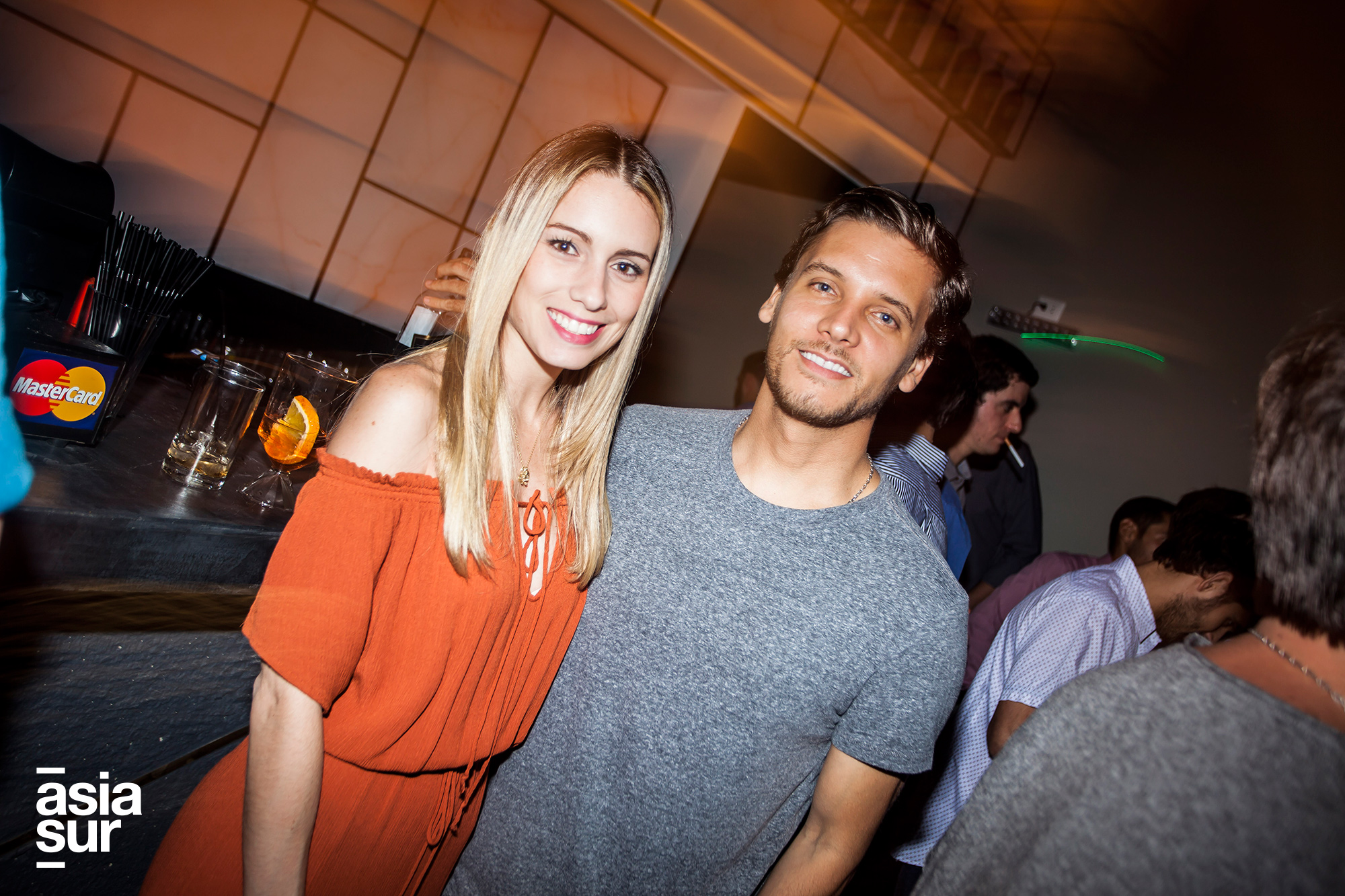 Nicole Ascenzo y Luis Gamero