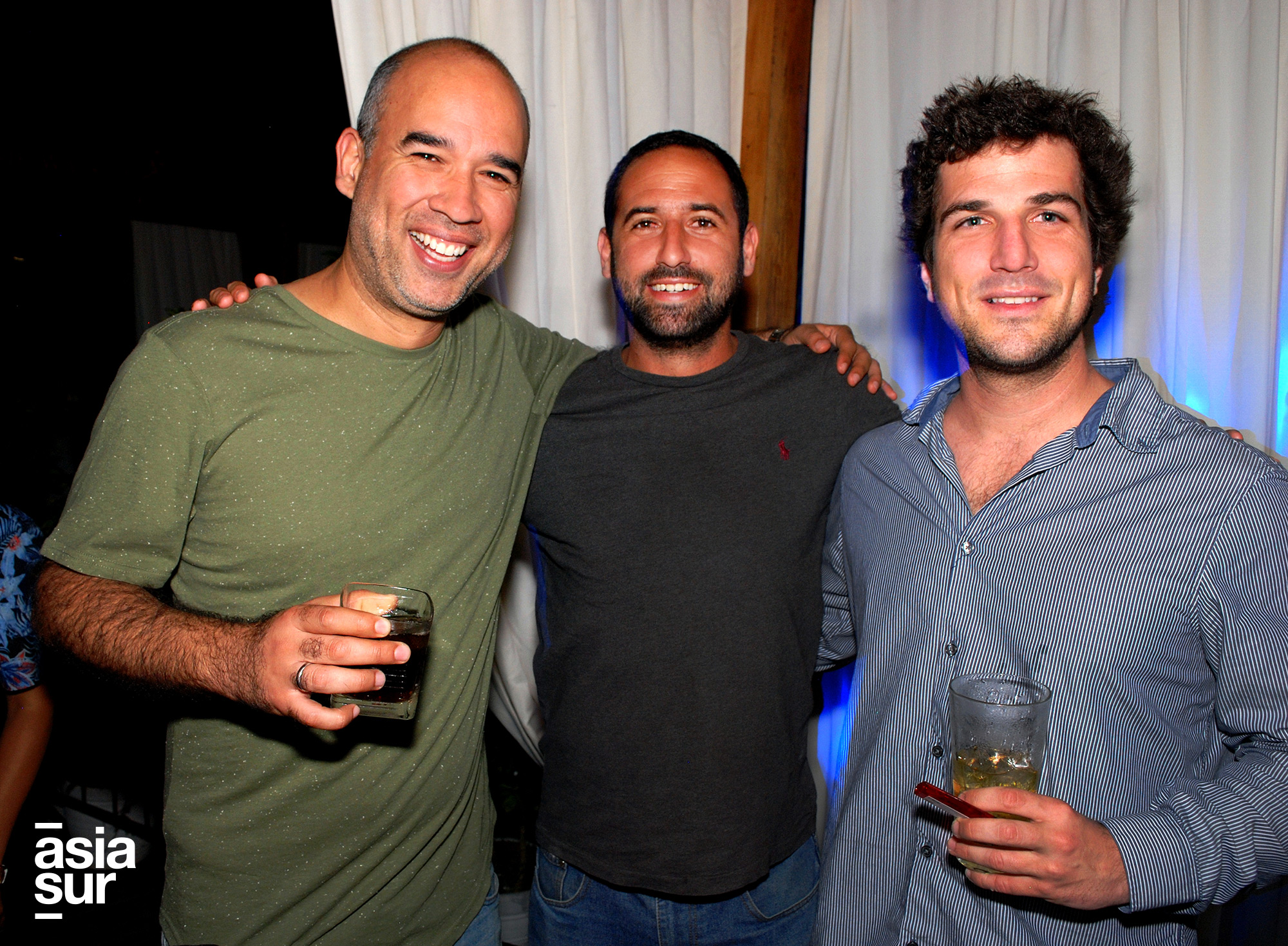 Diego del Pomar, Javier Bambarén y Stefano Lulli