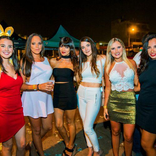Camilla Willcock, Daniela Pereira, Micaela Payet, Maria José Choza, Adriana Flores, Jill Navarro