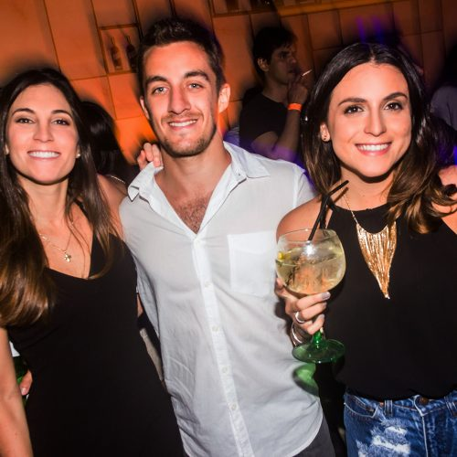 Maite Rizo Patrón, Nicolás Urrunaga y Liz Rizo Patrón