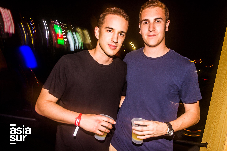 Marek Wroblewski y Rodrigo Betalleluz