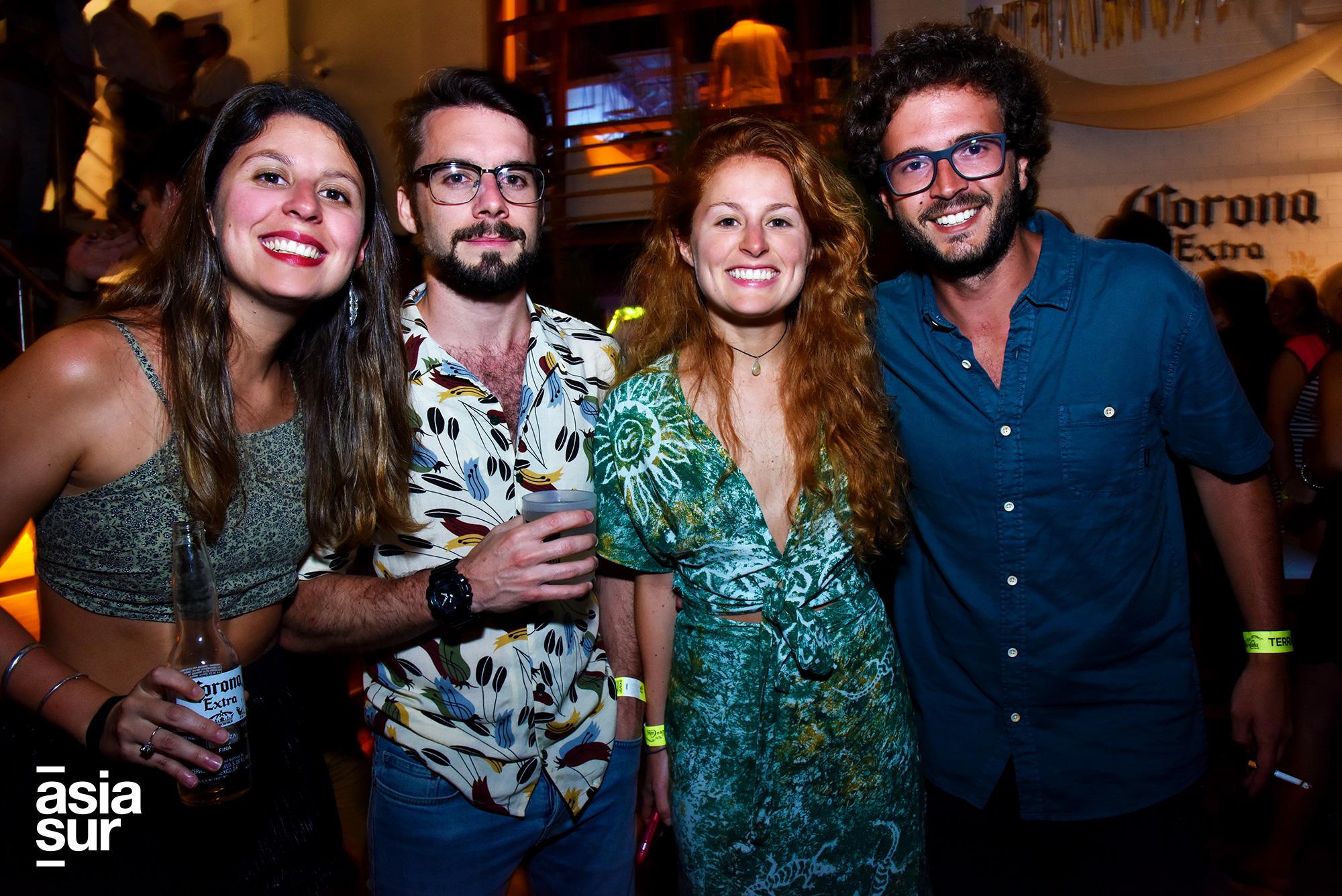 María Paz Talavera, Patrick Crosby, María Angela Talavera, Rodrigo Tafur