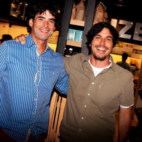 Martín Aspillaga y Pepe Velásquez