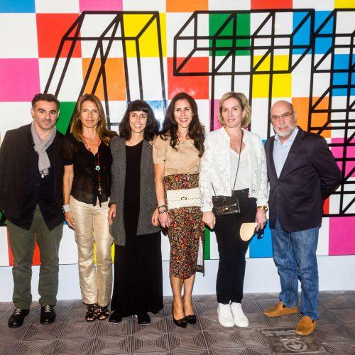 Pascal Tarabay, Musi Indacochea, Camila Rodrigo, Ana Degasoy, Iliana Lolas y Javier Ferrand