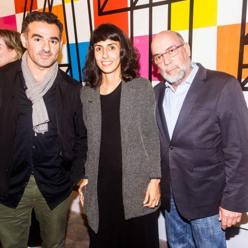 Pascal Tarabay, Camila Rodrigo y Javier Ferrand