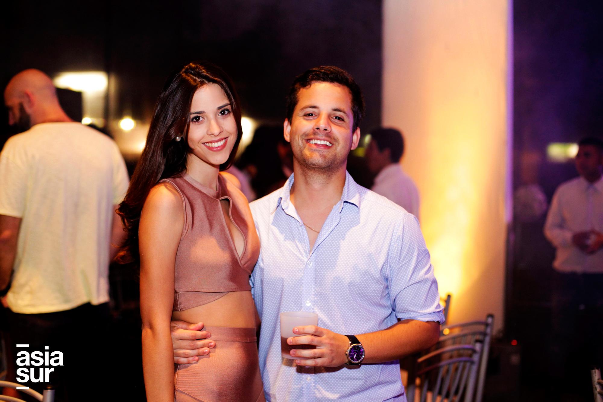 Thais Cacho-Sousa y Renzo Flores