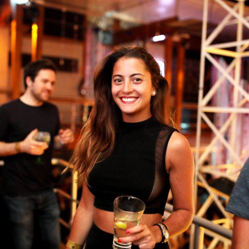 Grace Hemmerde en el debut oficial de Malu Vuitton en Lio de Punta Hermosa