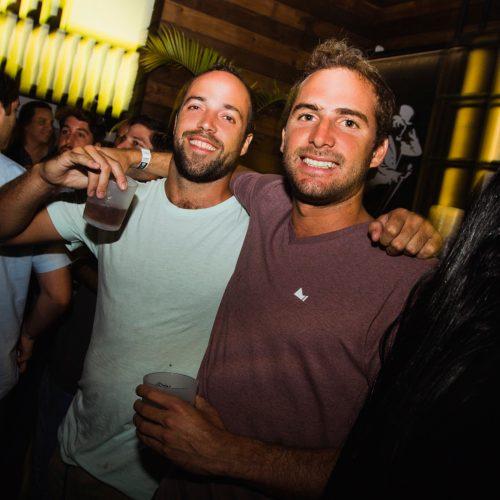 Stefano Maza y Joaquín Maugere en Resident, Punta Negraen Fiesta Bulbo